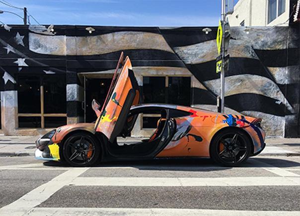 McLaren Painted